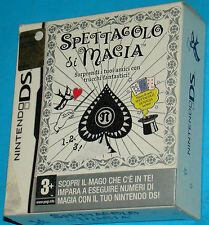 Spettacolo di Magia - Nintendo DS NDS - PAL New Nuovo