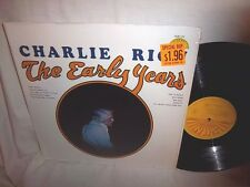 CHARLIE RICH-THE EARLY YEARS-SUN 132 VG+/VG+ LP