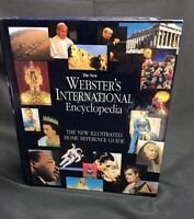 The New Webster's International Encyclopedia Home Reference Hardcover 1996 $99