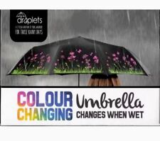 NEW GORGEOUS FLOWERS - COLOUR CHANGING - UMBRELLA BY DROPLETS