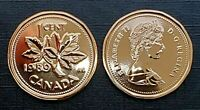 Canada 1989 Proof Like Gem UNC Small Cent Penny!!