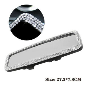 1PC Car Interior Clip On Rear View Mirror Wide-angle Lens Mirror Driving Safety