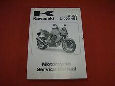 2007  Kawasaki Z1000 & Z1000 ABS Motorcycle Service Manual