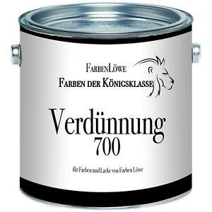 Farben Löwe Alkydharzverdünnung 700 - Spezialverdünnung für Farben und Lacke