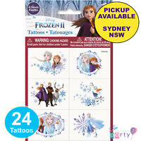 DISNEY FROZEN 2 PARTY SUPPLIES 24 TATTOOS ANNA ELSA BIRTHDAY LOOT BAG FAVOURS