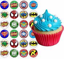 Eßbar Tortenaufleger Avengers Superhelden Dekoration Backen Muffin NEU Party
