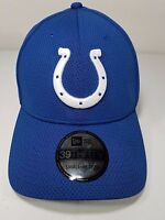 NWT NFL New Era Indianapolis Colts Football Stretch Fit Hat Blue 39THIRTY $30