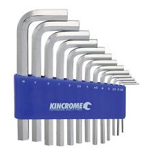 Kincrome METRIC HEX KEY SET 13Pcs Chrome Vanadium Steel, Mirror Polish*AUS Brand
