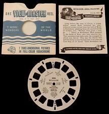 VIEWMASTER~# 4006 BETHLEHEM JUDEA PALESTINE 1949  (as is)