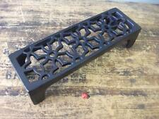 Cast Iron air Brick Vent NEW Pattern quality metric size - powder coated black