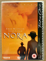 Nora DVD Barnacle 2000 British Bipoic Drama with Ewan McGregor and Susan Lynch