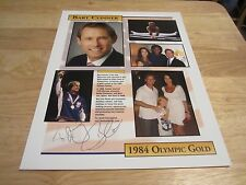 Bart Conner Autographed/Signed 8.5X11 Photograph USA Olympic Gymnastics