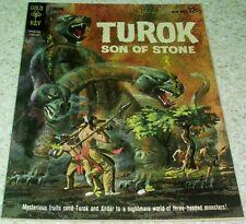 Turok Son of Stone 31 VF+ (8.5) 1963 High Grade GoldKey File Copy 35% off Guide!