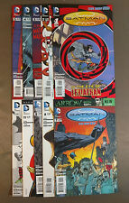 Batman Incorporated New 52 Lot of 12:  1-11, 8 Death of Damian Robin - Morrison