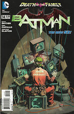 Batman #14 - New 52 Joker Cover Death Of The Family - 2013 (High Grade)