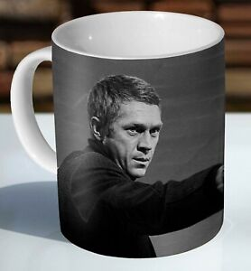 Steve McQueen Bullitt Shooting Scene Ceramic Coffee Mug - Cup