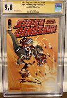 "Super Dinosaur: Origin Special #1 CGC 9.8 SS Hand signed Robert Kirkman ""Image"""