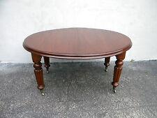 Mahogany Empire Dining Table 5875