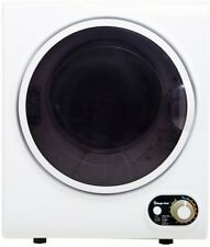 White Mini Electric Dryer Compact 1.5cuft Dry Laundry Clothes Apartment Dorm RV