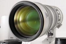 【Near Mint】NIKON AF-S VR NIKKOR 70-200mm F/2.8 G ED Light Gray + Hood HB-29 JP