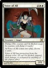 VOICE OF ALL Tenth Edition MTG White Creature — Angel RARE