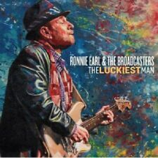 RONNIE EARL & THE BROADCASTERS - THE LUCKIEST MAN   CD NEUF