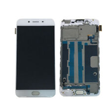For OPPO R9S LCD Display Touch Screen Digitizer Assembly Replacement + Frame AU