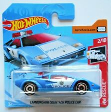 HOT WHEELS LAMBORGHINI  COUNTACH POLICE CAR - Mattel