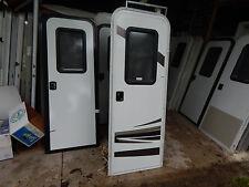 """Trailer Door, 26"""" X 72"""".  With Screen Door, Take Off, Good Shape, Locks/Keys #23"""