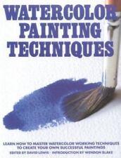 Watercolor Painting Techniques (1983, Paperback)
