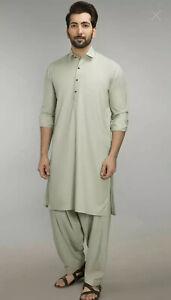 Pakistani / Indian Stitched Shalwar Kameez Men Size S - Desi Clothes - Gul Ahmed