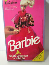 """Barbie Colorforms """"Private Collection Dress Up Set"""" with box, vintage 1990s"""