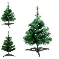 Small Mini Table Top Christmas Tree XMAS 45cm Green DECOR  NEW HOT GREEN FadS*