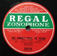 Country 1st Edition 78 RPM Vinyl Records