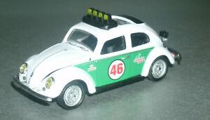 1/64 Scale 1956 VW Beetle Deluxe Diecast Rallye Car (Type 1 Bug) M2 Machines