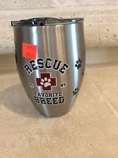 Tervis Tumbler Stainless Steele Cup 12oz Rescue Pet Logo