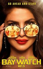 Baywatch Movie Poster (24x36) - Priyanka Chopra, Rohrbach, Daddario v12