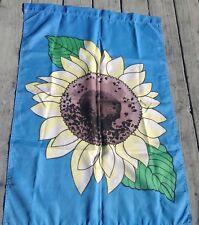 """Lg. Sunflower Garden Yard Flag Blue Background W Lg Sunflower 39""""X 26.5"""""""