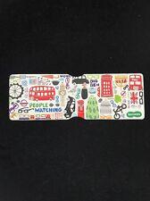 Travel Card Holder London Tourist Sites Rail Card Holder Plastic