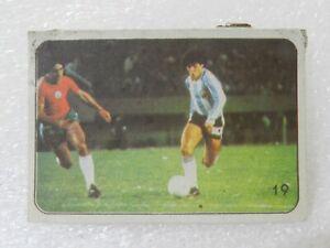 DIEGO ARMANDO MARADONA 1979 ORIGINAL FOOTBALL SOCCER CARD N°19