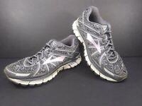 Brooks Adrenaline GTS 17 Women's Size 8.5 B Running Shoes Grey White Purple