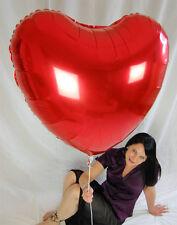 """1 x 36"""" Riesen-Folien-Herzballon in rot *90cm*HOCHZEIT*WEDDING*MYLAR*"""