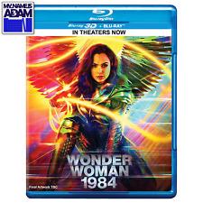 WONDER WOMAN 1984 Blu-ray 3D + Blu-ray (REGION FREE) - PRE-ORDER NOW!
