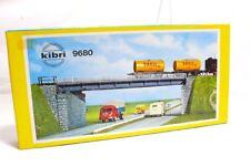 Kibri 9680 H0 Kit de montage Pont / Pont routier EMBALLAGE D'ORIGINE