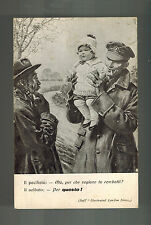 1919 Pallanza Italy Postcard Cover War Invalids and Mutilated Association WW 1