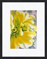 "PINK /& YELLOW HOLLYHOCKS 386 O/'KEEFFE GEORGIA 1952-ART PRINT POSTER 14/"" x 11/"""