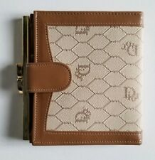 Vintage Christian Dior Paris-New York Monogram Ladies Wallet (New)