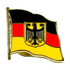 Flaggen Pin Deutschland mit Adler ca. 20 mm - Anstecknadel Anstecker  Fahnenpin