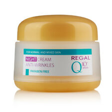 REGAL Q10+ NIGHT CREAM ANTI-WRINKLES FOR NORMAL AND MIXED SKIN 50 ml.