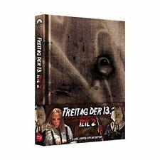Blu-ray - Freitag, der 13. - Teil 2 - Uncut/Mediabook (+ Bonus-DVD) - Amy Steel,